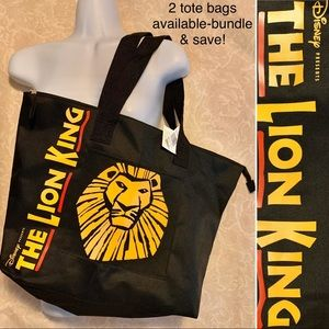 NWT The Lion King Broadway Production Tote Bag